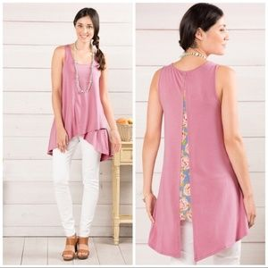 Matilda Jane Secret Garden Sleeveless Tunic Tank